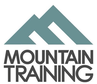 The logo of Mountain Training England provide training & assessment courses for the SPA on behalf of the MTE